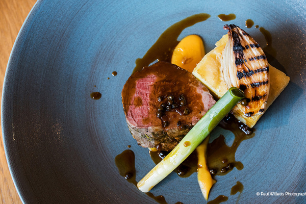 Food from Galloping Gourmet at Curradine Barns wedding venue in Worcestershire | CHWV