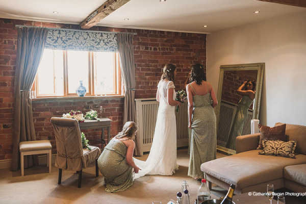 The Dressing Room at Curradine Barns | Wedding Venues Worcestershire