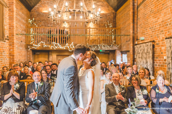 Wedding Ceremony at Curradine Barns | Wedding Venues Worcestershire