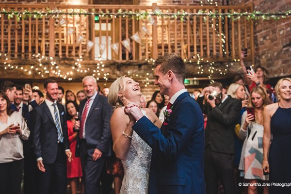 First Dance at Curradine Barns | Wedding Venues Worcestershire