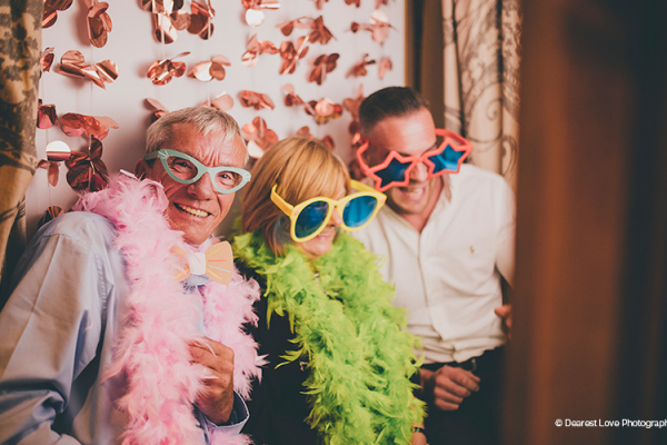 The Photobooth at Curradine Barns | Wedding Venues Worcestershire