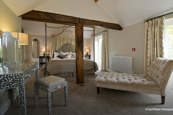 Accommodation at Curradine Barns