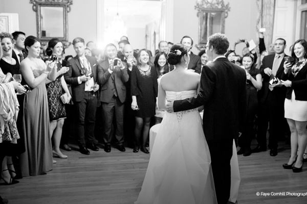 First dance at Dartmouth House