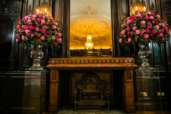 The Churchill Room at Dartmouth House wedding venue in London | CHWV