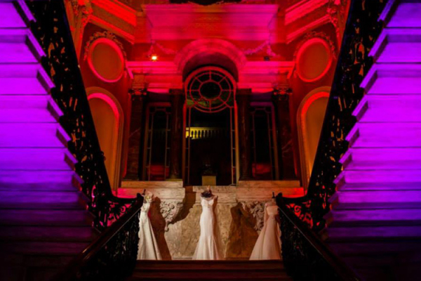 The Marble Staircase at Dartmouth House wedding venue in London | CHWV
