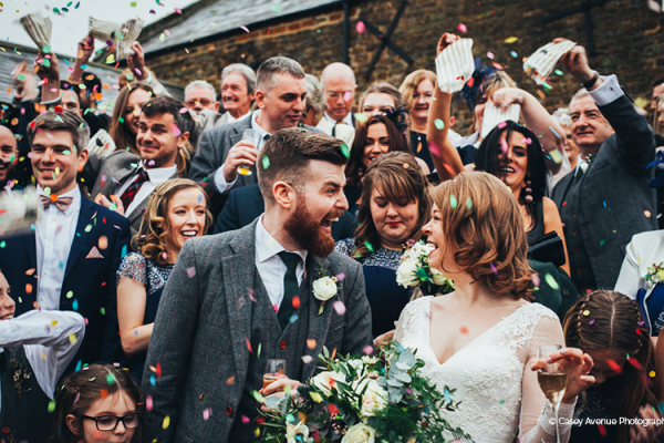 Just married at Dodmoor House wedding venue in Northamptonshire | CHWV