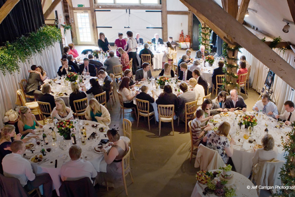 A wedding reception at Dorset House