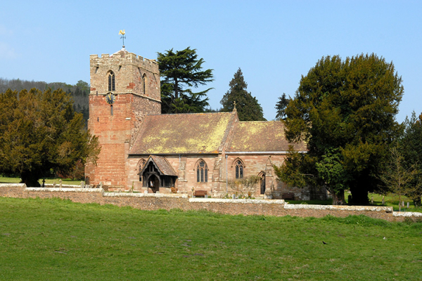 Eastnor Church near Eastnor Castle wedding venue in Herefordshire | CHWV