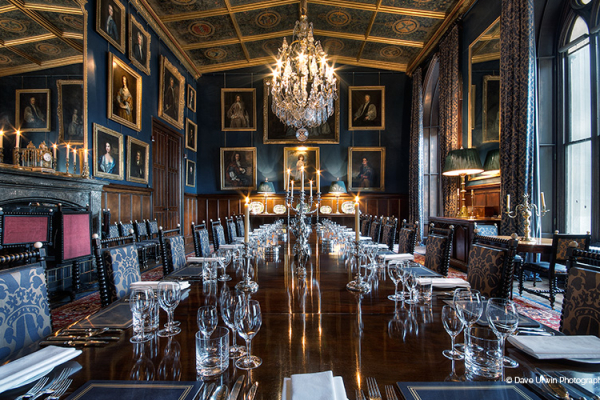 The Dining Room at Eastnor Castle wedding venue in Herefordshire | CHWV