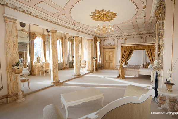 The Honeymoon Suite at Gosfield Hall