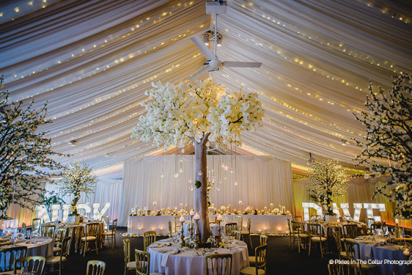 Reception Space at Heaton House Farm | Wedding Venues Cheshire