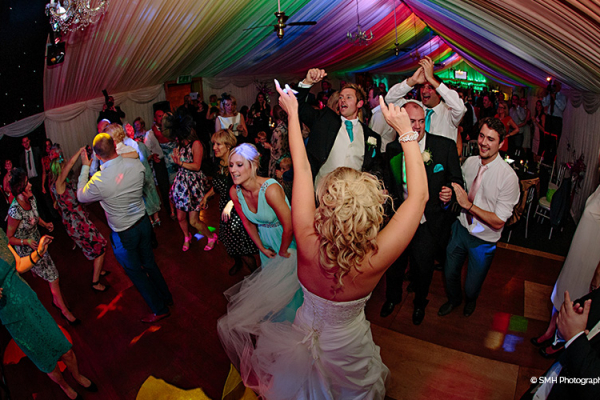 Evening Celebrations at Heaton House - Barn Wedding Venue in Cheshire
