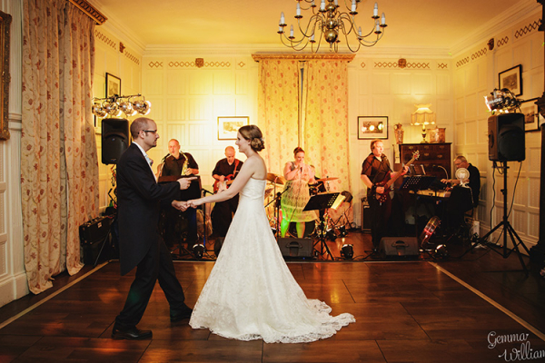 The First Dance at Homme House - Country House Wedding Venue in Herefordshire