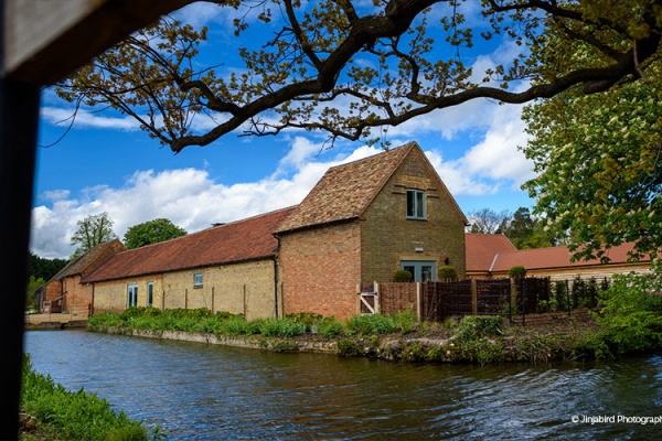 The-moat-at-Bassmead-Manor-Barns-waterside-wedding-venue