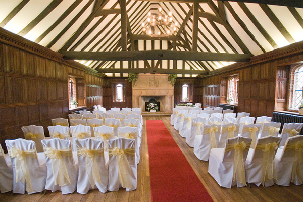 Ready for the Ceremony at Leez Priory - Country House Wedding Venue in Essex