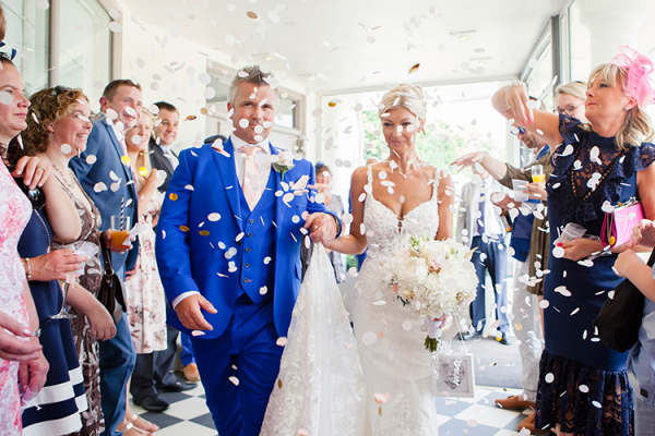 Confetti at Southdowns Manor | West Sussex wedding venues