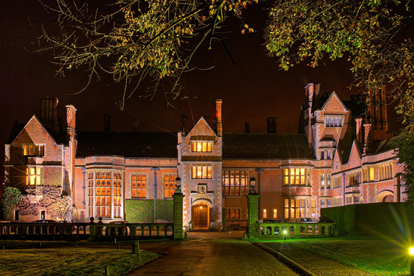 The Spectacular Marlston House In Evening