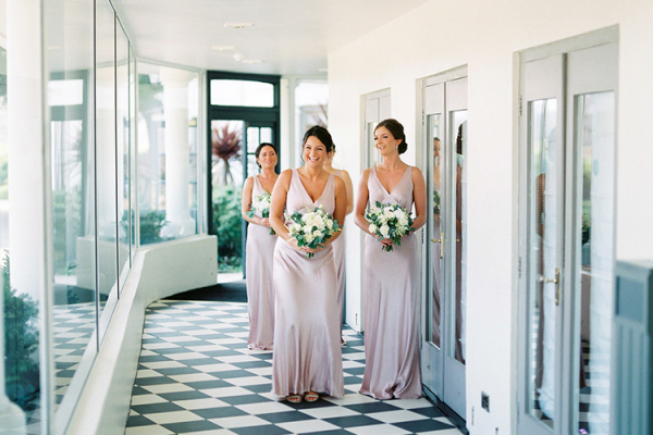 Bridesmaids at Southdowns Manor | West Sussex wedding venues