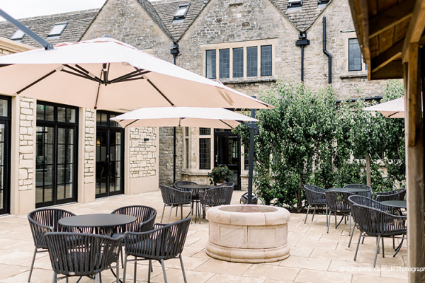 Outdoor Spaces at The Pear Tree | Wedding Venues Wiltshire