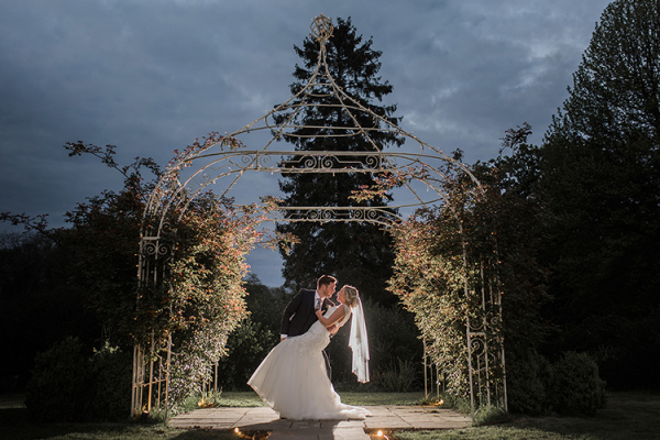 Evening Photo Opportunities at Southdowns Manor | West Sussex wedding venues