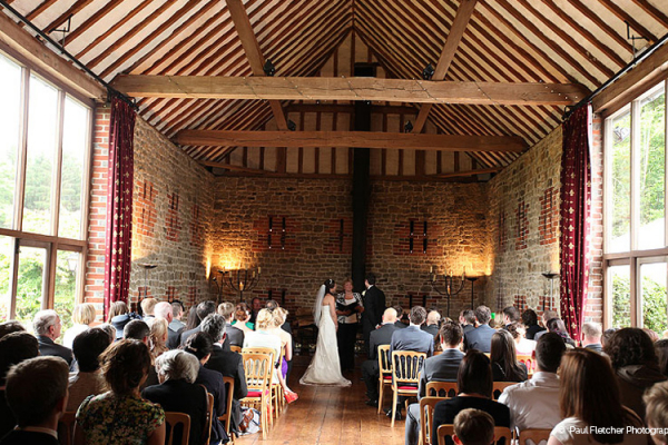 Civil ceremonies at Bartholomew Barn in West Sussex