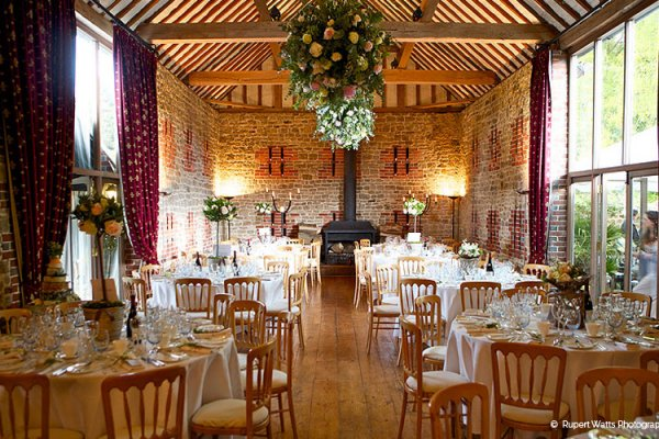 Wedding reception venue - Bartholomew Barn in West Sussex