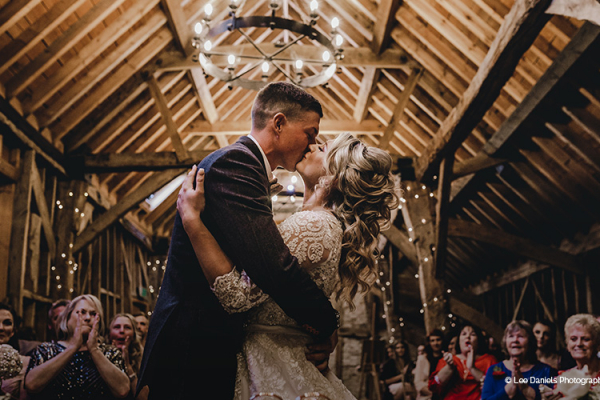 Just married at Bassmead Manor Barns wedding venue in Cambridgeshire | CHWV