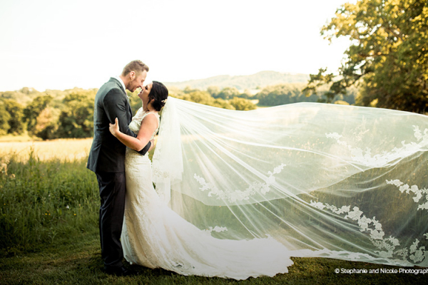 Taking a moment in the beautiful gardens at Bignor Park wedding venue in West Sussex | CHWV