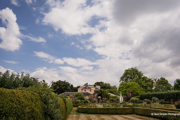 The beautiful gardens at Bignor Park wedding venue in West Sussex | CHWV