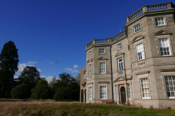 The front of the mansion at Bourton Hall mansion wedding venue in Warwickshire | CHWV