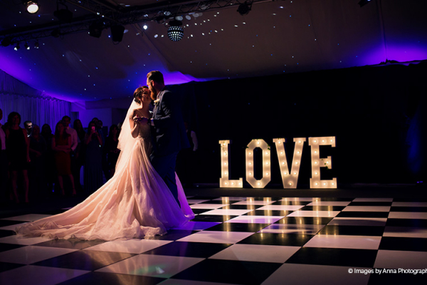 Romantic first dance at Braxted Park country house wedding venue in Essex | CHWV