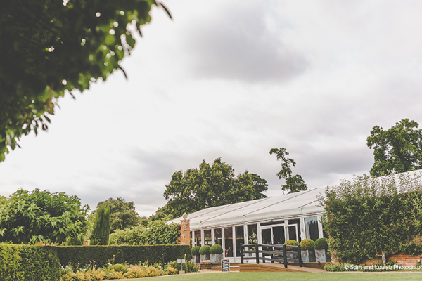 The Pavilion and gardens at Braxted Park wedding venue in Essex | CHWV