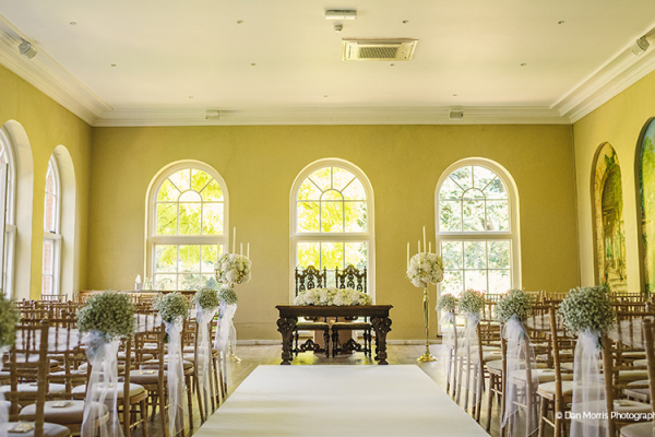 The Orangery at Braxted Park wedding venue in Essex | CHWV