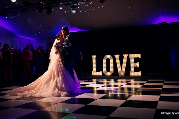 A romantic first dance at Braxted Park wedding venue in Essex | CHWV