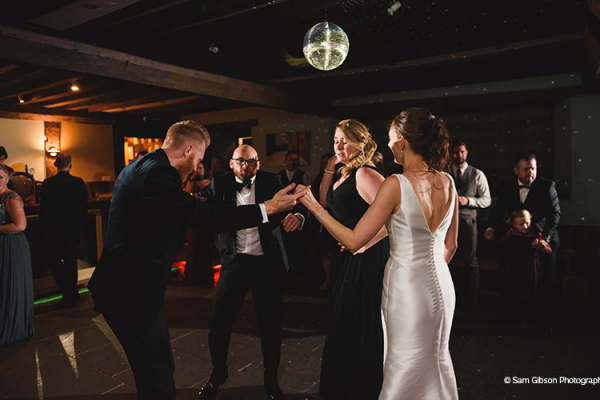 Dancing the night away at Brinsop Court country house wedding venue in Herefordshire | CHWV