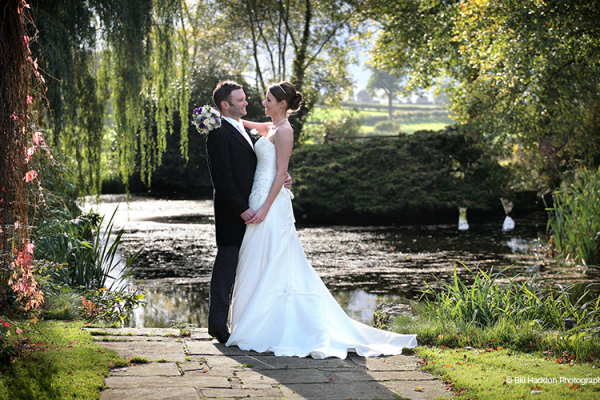 Just married at Brooksby Hall wedding venue in Leicestershire | CHWV