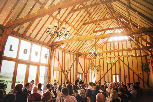 Wedding Barn In Suffolk