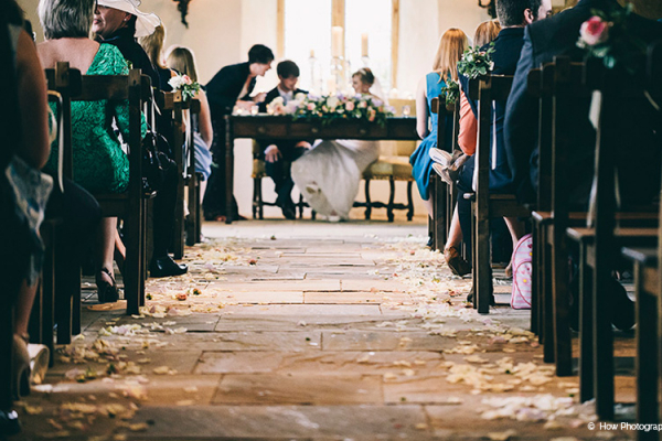 A ceremony at Brympton House