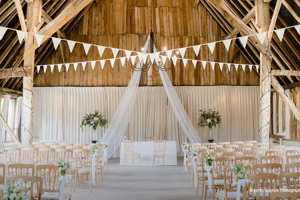 Ceremony at Clock Barn | Wedding Venues Hampshire