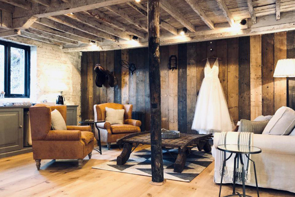 Dressing Room at Clock Barn | Wedding Venues Hampshire