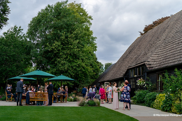 Drinks Reception at Clock Barn | Wedding Venues Hampshire