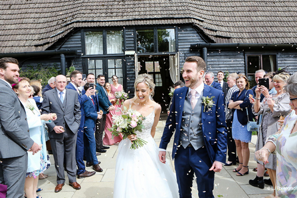 Confetti at Clock Barn | Wedding Venues Hampshire