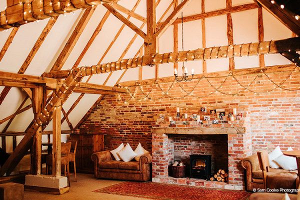 Lounge at Clock Barn | Wedding Venues Hampshire
