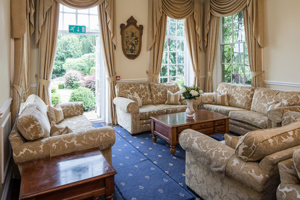 The Lounge at Colehayes Park wedding venue in Devon | CHWV