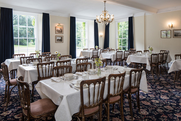 The Dining Room at Colehayes Park wedding venue in Devon | CHWV