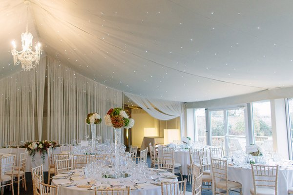 The pavilion at Combermere Abbey wedding venue in Shropshire | CHWV