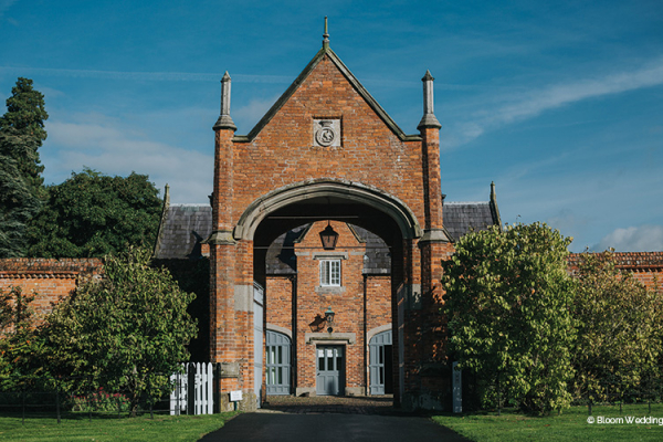 Entrance to Accommodation at Combermere Abbey | Wedding Venues Cheshire