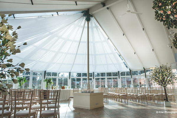 The Glasshouse at Combermere Abbey | Wedding Venues Cheshire