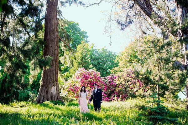 The Walled gardens at Combermere Abbey wedding venue in Shropshire | CHWV