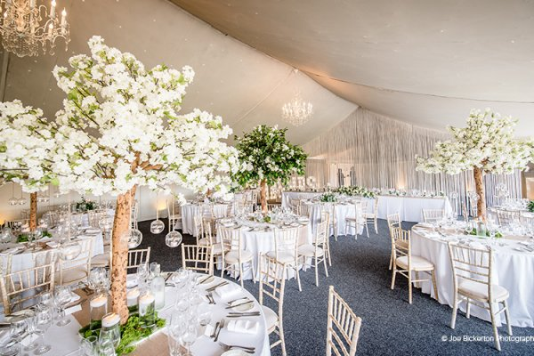 Wedding Breakfast at Combermere Abbey | Wedding Venues Cheshire